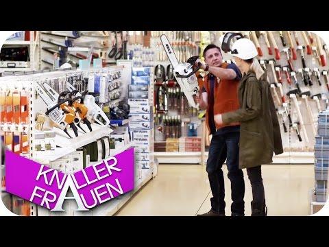 Papa im Baumarkt - Knallerfrauen mit Martina Hill