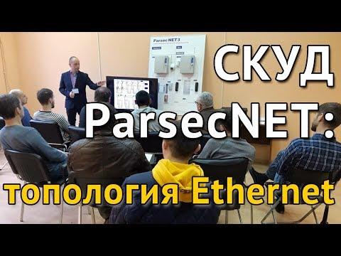 СКУД ParsecNET: топология