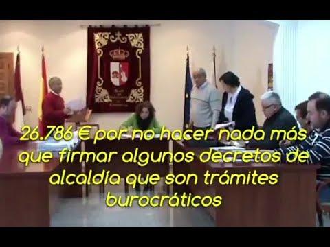 Tensión en Casasimarro cuando un concejal cuestiona el sueldo del alcalde del PP