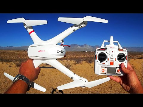 MJX X101 Drone Flight Test Review (The X8C Killer?)