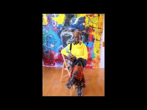 arts and culture Dec 13 2015 on Pikine Diaspora Radio with Shaunda Holloway artist painter and print