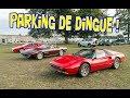 Parking visiteur de malade et enchères Aguttes - Grandes Heures Automobiles - Montlhéry
