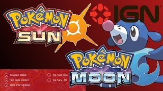 IGN REVIEW POKEMON SUN AND MOON