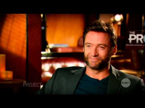 Hugh Jackman interview on The Project (2013) - Wolverine