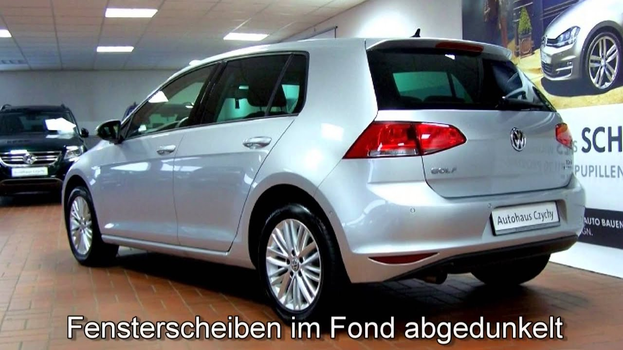 volkswagen golf vii 1 6 tdi bmt cup ew186496 reflexsilber autohaus czychy youtube. Black Bedroom Furniture Sets. Home Design Ideas