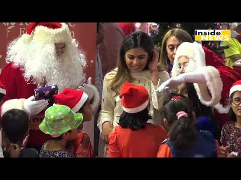 Isha Ambani Celebrates Christmas With Underprivileged Kids
