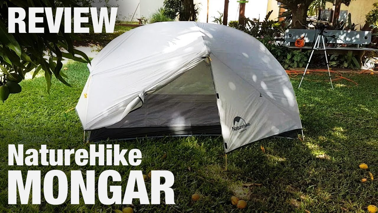 NatureHike Mongar 2 - Review da barraca de trekking (análise)