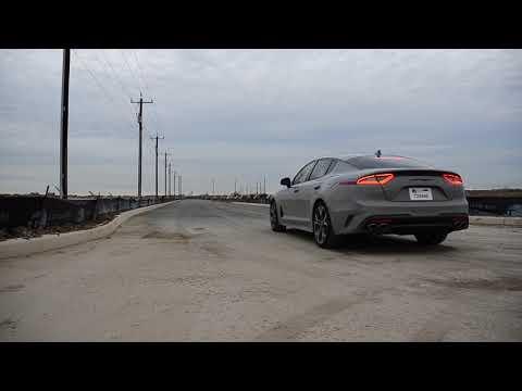Kia Stinger GT AWD Stock Launch Control