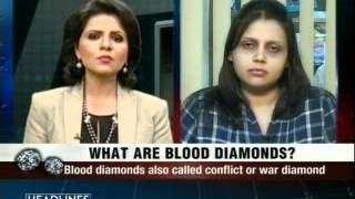 Blood diamonds being used for money laundering, says customs department
