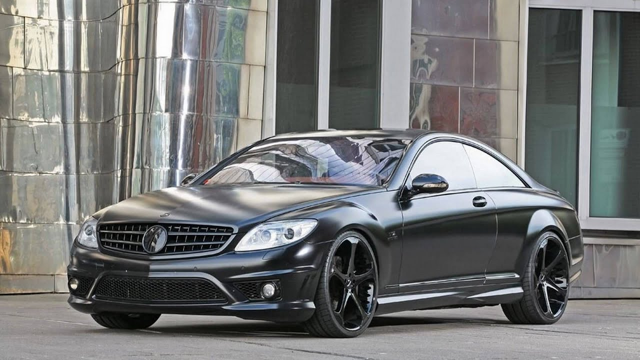 2010 anderson germany mercedes-benz cl 65 amg black edition - youtube