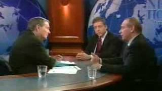 Yossi Beilin and Yasser Abed Rabbo on The News Hour with Jim Lehrer-December 3, 2003
