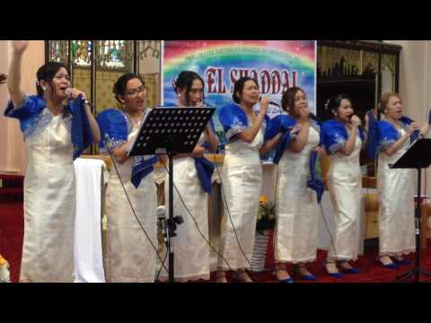 El Shaddai Newcastle Chapter UK 10th Thanks Giving Bless The Lord