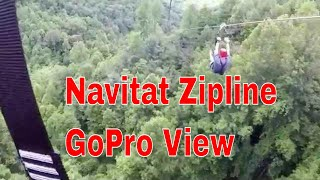Navitat Zipline Asheville NC GoPro Video