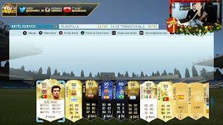 TOP MIS MEJORES SOBRES DE FIFA 16 !!!