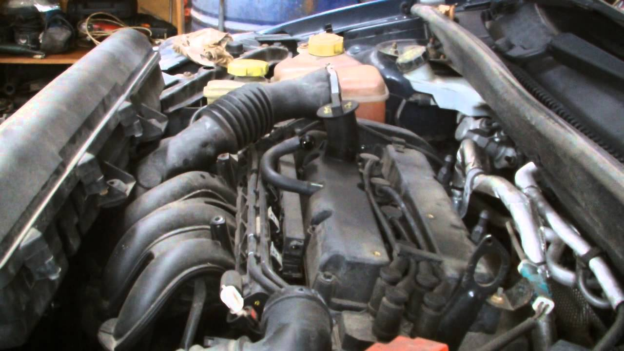 Ford Fiesta Air Filter Replacment Youtube