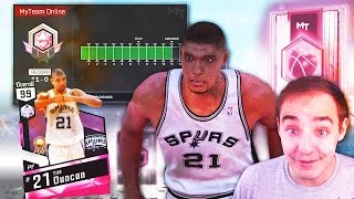 NBA 2K17 My Team HOW TO GET PINK DIAMOND TIM DUNCAN! 99 OVERALL!
