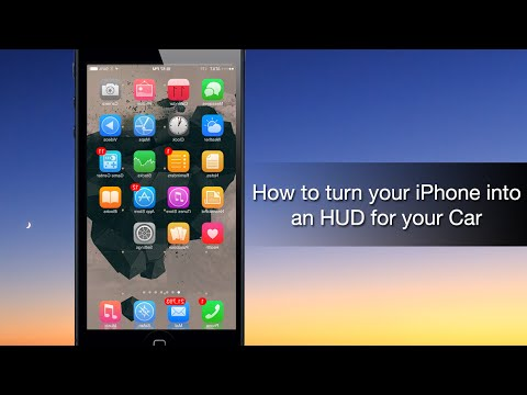 How to turn your iPhone into an HUD for your Car