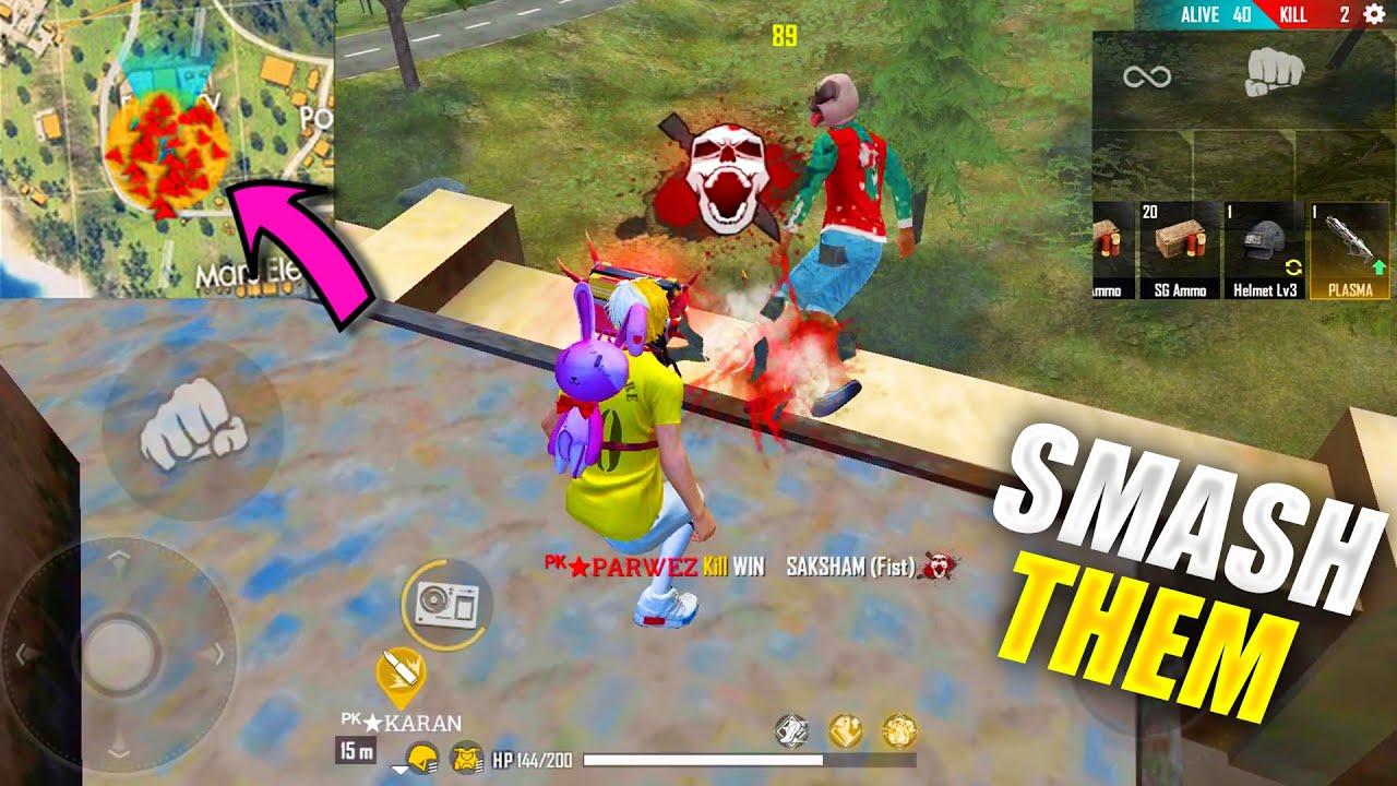 Duo vs Squad Funny Gameplay With Karan Smashing Headshots - Garena Free Fire PK GAMERS Factory King