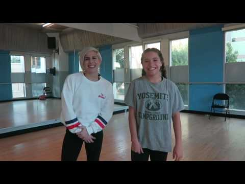 Rumer Noel and Mackenzie Ziegler Dancing That's What I Like Tutorial