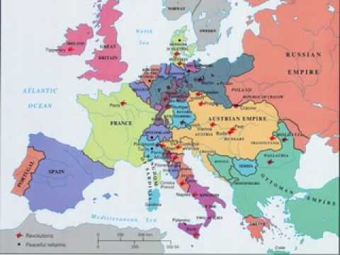 1848 1 Europe And America Youtube
