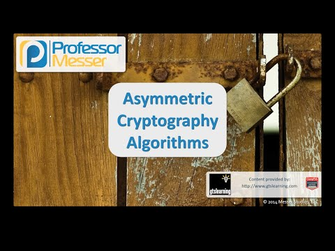 Asymmetric Cryptography Algorithms - CompTIA Security+ SY0-401: 6.2