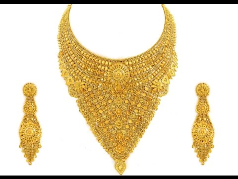 Muslim Wedding Necklace Jewellery Designs 2018 Youtube