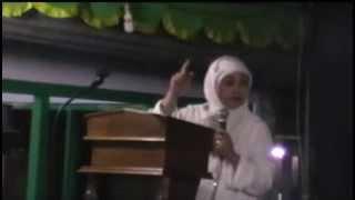 Ceramah Mantan Aktifis Gereja , Ustadzah Ita Meiga Fitri SH. MH Muallaf Thionghoa Kutoarjo