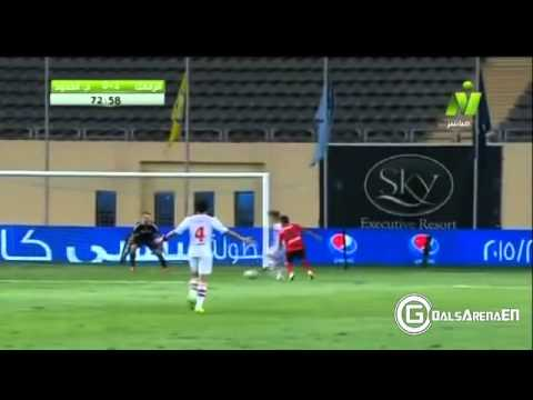 اهداف مباراة الزمالك  و حرس الحدود 3-1 كأس مصر|| 15-8-2015
