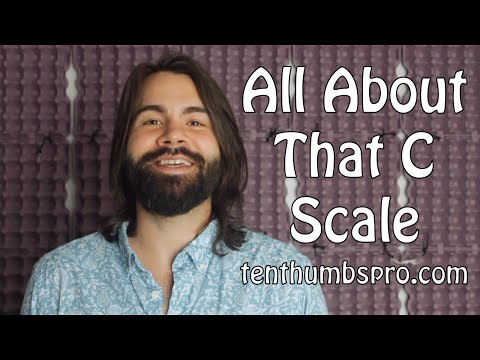 The C-Scale on Ukulele - Music Theory Tutorial