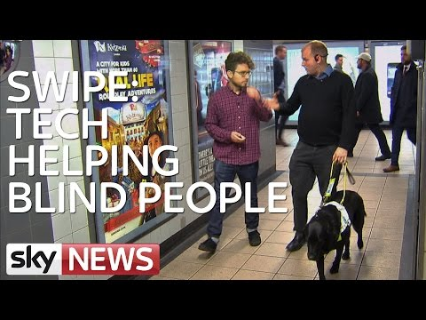 SWIPE: Technology Helping Blind People