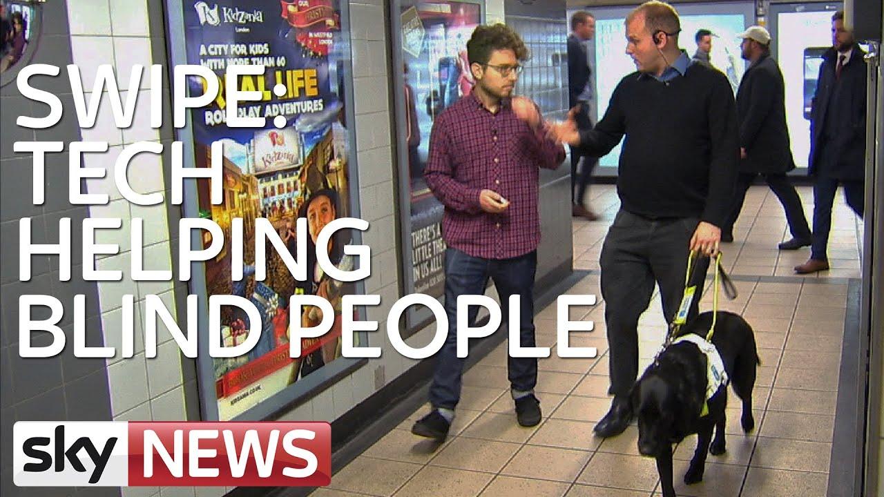 Swipe Technology Helping Blind People Youtube