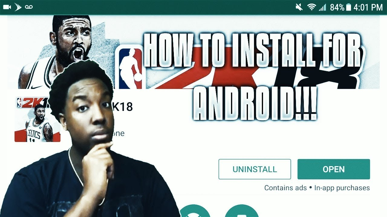 HOW TO DOWNLOAD NBA 2K18 MOBILE FOR ANDROID!!!  #Smartphone #Android