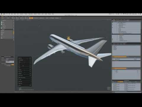 "Boeing 787 ""Dreamliner"" wing flex"