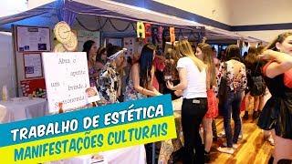 ESTUDANTES DE ESTÉTICA APRESENTAM TRABALHOS SOBRE MANIFESTAÇÕES CULTURAIS NO BRASIL
