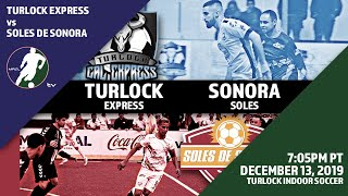 Turlock Cal Express vs Soles de Sonora
