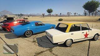GTA 5 Online San Andreas Super Sport Series DLC - All 16 Unreleased Vehicles Gameplay!