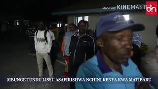 BREAKING NEWS: MAPOKEZI YA TUNDU LISSU NA HALI YAKE KWA SASA UKO HOSPITALI KENYA....