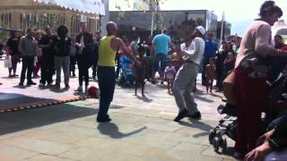 Funny muslim man dancing to bassline and garage!