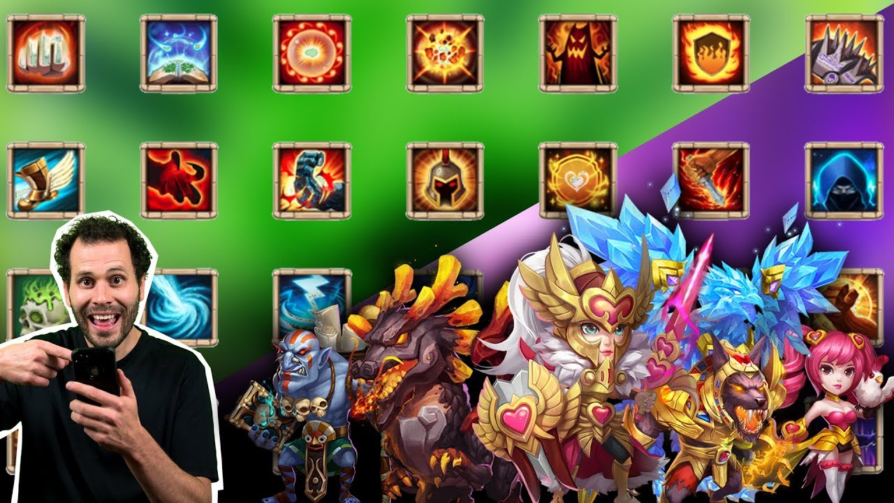 Explaining Talents I Put on Heroes and WHY Castle Clash