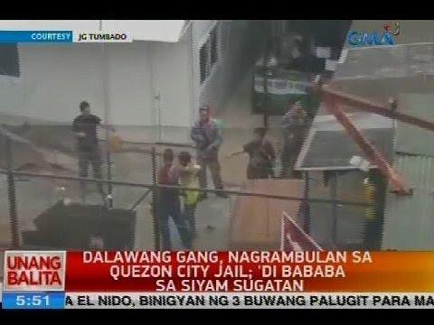 Dalawang gang, nagrambulan sa Quezon City Jail