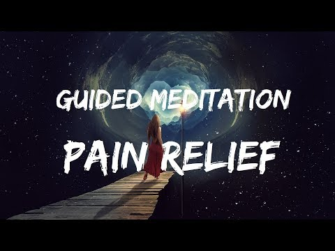 Pain relief Guided meditation for sleep with Affirmations