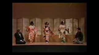 Nichibu(Japanese dance) lesson - in better quality.