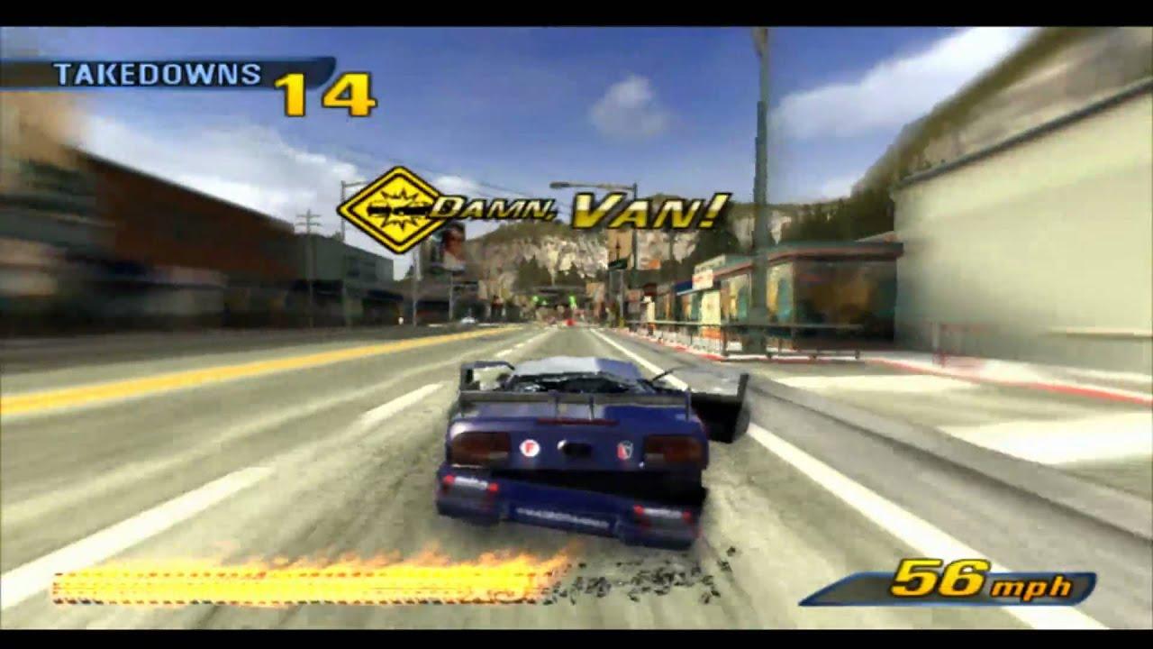 Burnout 3 Takedown HD PS3