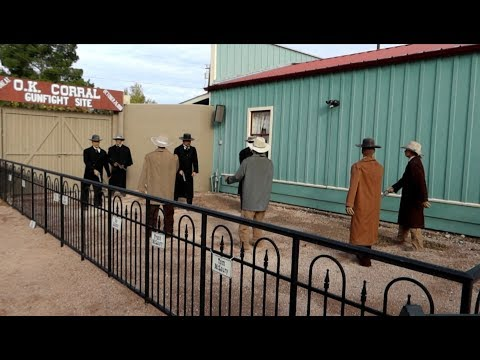 #1210 TOMBSTONE Gunfight At O.K. Corral - Jordan The Lion Travel VLOG (12/16/19)