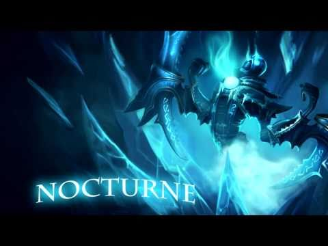 League of Legends - Nocturne Voice and skins [HD]