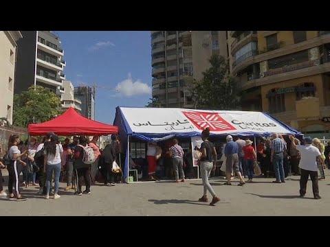 في بيروت .. منظمات غير ربحية تنشط لتوزيع المساعدات الطبية والغذائية …  - 06:57-2020 / 8 / 11