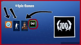 LES RÉCOMPENSES I GOT FOR BEING LEVEL 100 IN FORTNITE SEASON 7!