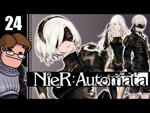 Let's Play NieR: Automata Part 24 - Black Box Scanner