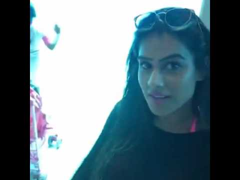 Here I go live with Aur Dikhao team in Dubai Atlantis The Palm, Dubai via Nia Sharma