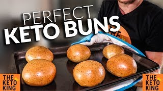 ►check out my free keto bread recipe book! http://theketokingakathebantingboss.com/ this buns is adapted from the diedre's...
